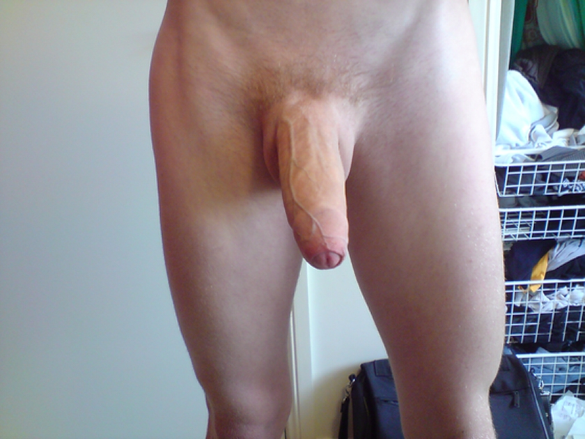 Closeup Picture Of A Nice Big Uncut Cock