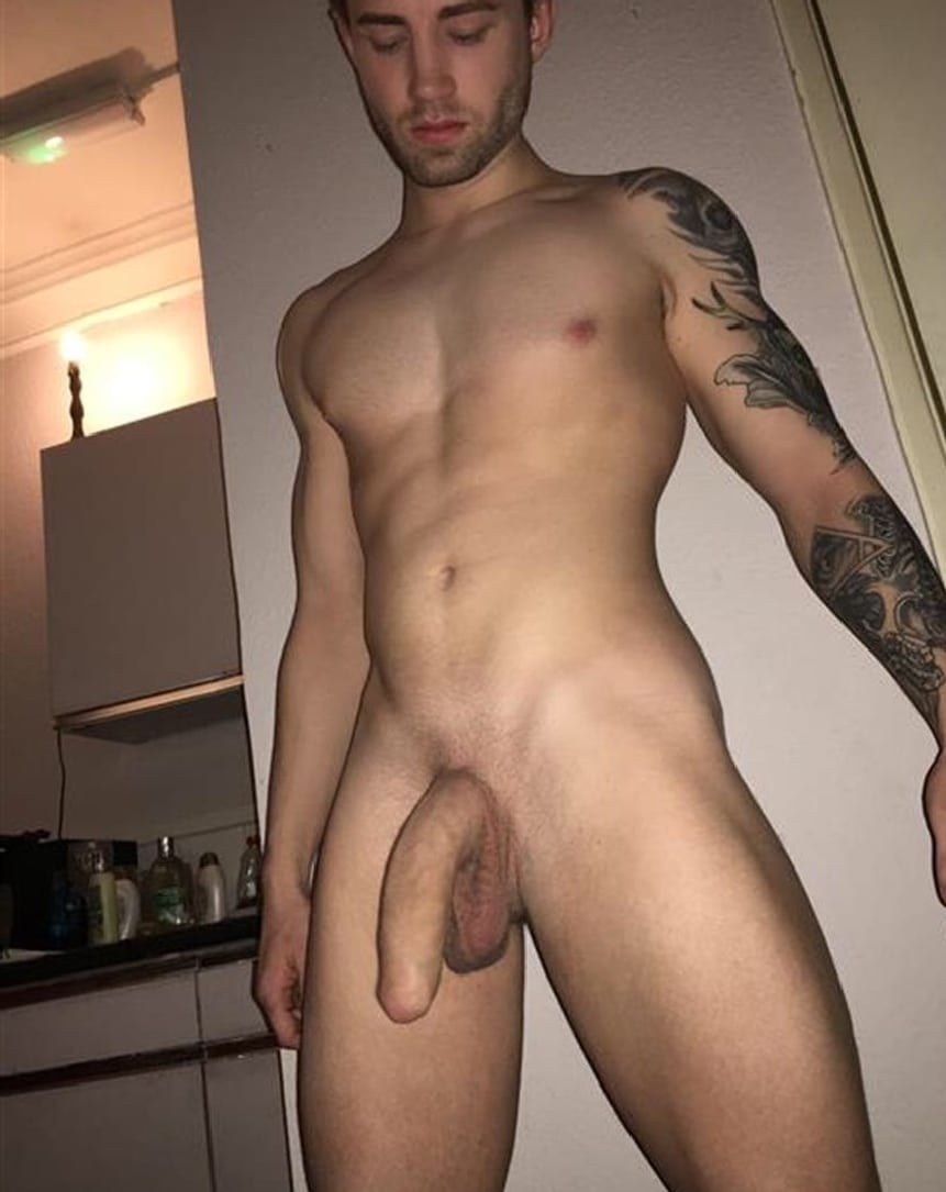 Nude Man With A Big Beautiful Cock