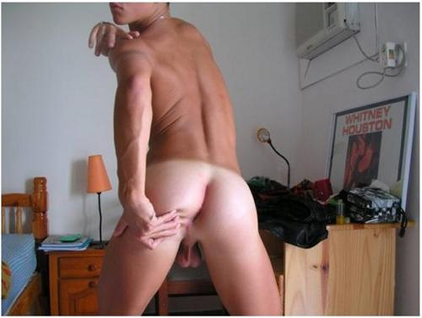 Nude Boy Showing Off His Nice Ass